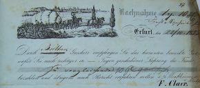 Frachtrechnung Fa. F. Claer
